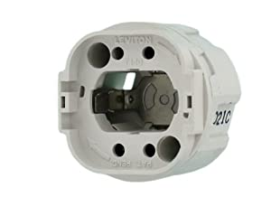 leviton 26800 4a9 twist in socket for g24q and gx24q lamp. Black Bedroom Furniture Sets. Home Design Ideas