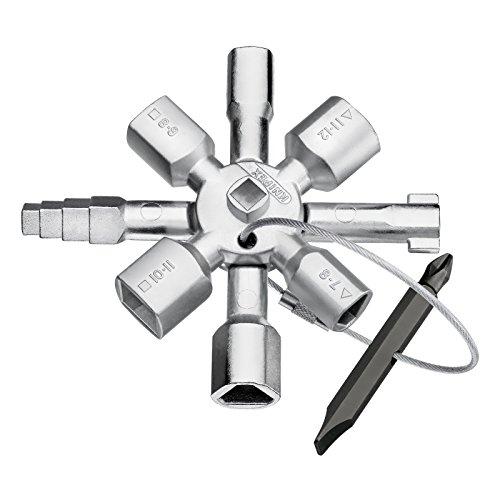 Knipex 00 11 01 Twinkey per Tutti i Sistemi di Chiusura Più Comuni, 92 mm