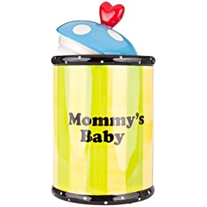 Young's 22129 Mommy's Ceramic Treat Jar, 9.25-Inch