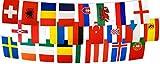 Fahnenkette internationale Flaggenkette 24 Nationen