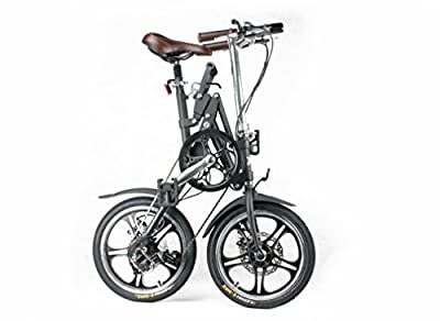 Kwikfold® Xite One-second fold cycling city folding bike bicycle alloy with Shimano Gears