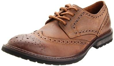 Steve Madden Men's Macreen Oxford,Tan Leather,8 M US