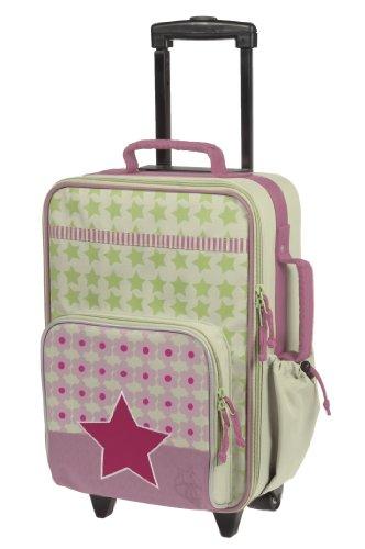 lassig-stabiler-kinder-reisekoffer-kindertrolley-mit-separatem-schuh-waschebeutel-starlight-magenta