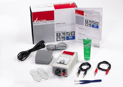 DS Laboratories Vector Electrolysis Professional Hair Removal System with Foot Pedal