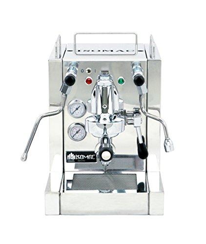La Pavoni KIA Isomac Espresso Machine, Stainless Steel