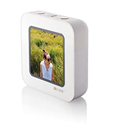 CUBE A Streaming Display for Social Media Frame, White