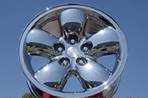 Dodge Ram 1500: Set of 4 genuine factory 20inch chrome wheels