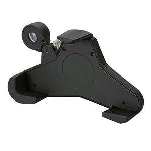 カーメイト(CARMATE) 120度の広角レンズ付 iPhone 3G、3GS、4対応 レンズ付iPhoneホルダー ブラック 「別売 吸盤ベース(ME6)が必要です」 ME7