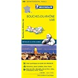 Carte Bouches-du-Rhône, Var Michelin