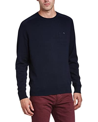 Ben Sherman Pullover The Crew Neck blau