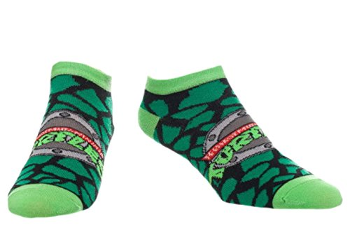 Teenage Mutant Ninja Turtles Adult No Show Ankle Socks 1 Pair