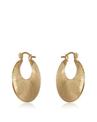 Silver One Pendientes Aro Oro Diamantado