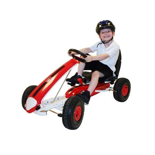 kiddi o by kettler aero racer pedal car go kart youth. Black Bedroom Furniture Sets. Home Design Ideas