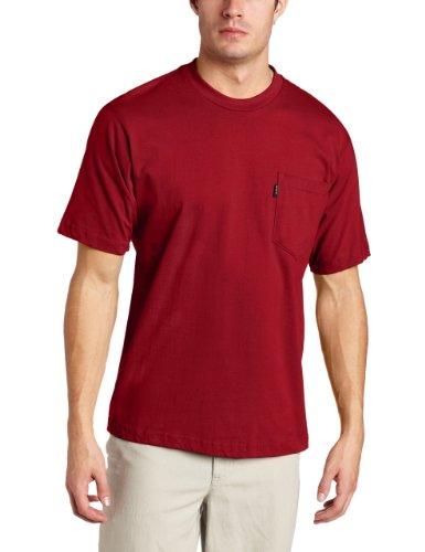 Key Industries Men's Big-Tall Short Sleeve Heavyweight Pocket Tee Shirt