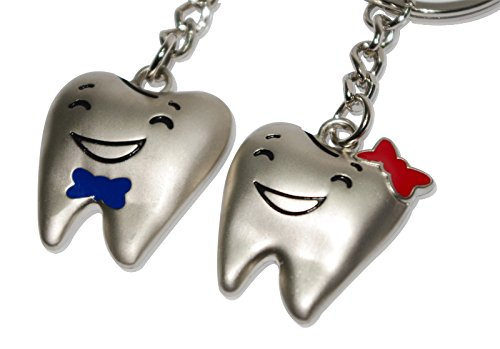 paar-schlusselanhanger-in-zahn-gestalt-schlusselring-keychain-als-besten-geschenk-fur-dr-freund-lieb