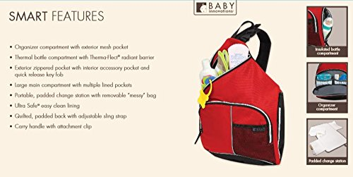 Baby Innovations Fast Track Sling, Red (Discontinued by Manufacturer)