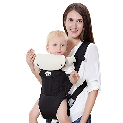 Langforth-Baby-Carrier-Infant-Carriers-Soft-Front-Backpack-5-Carrying-Positions-for-79-264lbs-Baby