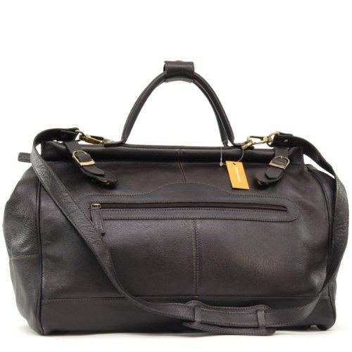 Ashwood Gladstone Bag - Weekend Holdall - Brown Leather