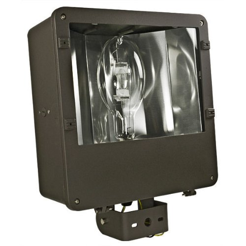 metal halide flood light fixture 120 208 240 277 volt wired to. Black Bedroom Furniture Sets. Home Design Ideas