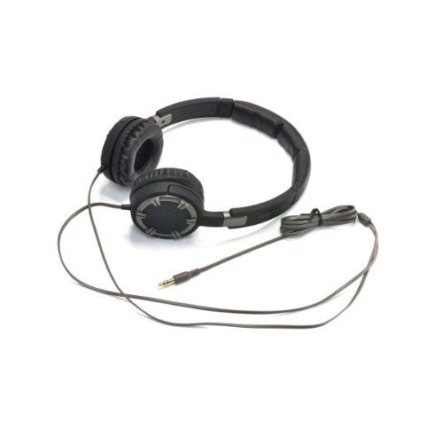 Gear Head Hq4750Bcm Dynamic Bass Stereo Headphones With Noise Isolation, Grey