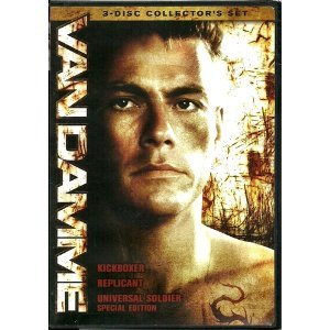 Van Damme 3 Disc Collector's Edition - Kickboxer/Replicant/Universal Soldier (Boxset)