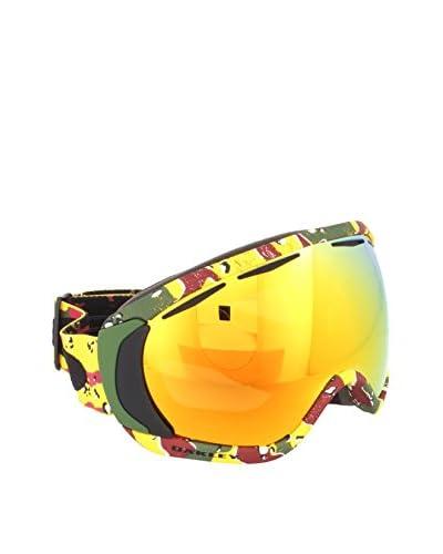 Oakley Máscara de Esquí 7047 Verde Militar / Amarillo