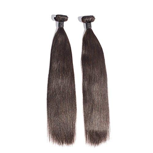 EMEDA Wholesale 2 pcs/lot High Quality Brazilian Hair Extensions 6A 100g/pc Brazilian Straight Virgin Hair Weft (18