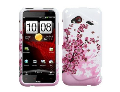 Mybat Htcadr6410Hpcim025Np Slim And Stylish Protective Case For Htc Droid Incredible 4G Lte Adr6410 - 1 Pack - Retail Packaging - Spring Flowers front-691122