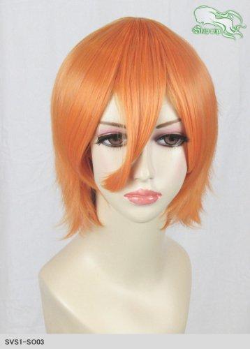 スキップウィッグ 魅せる シャープ 小顔に特化したコスプレアレンジウィッグ マニッシュショート マンゴー
