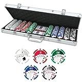41i2yRLJSsL. SL160  500 Poker Chips 11,5g mit Wertaufdruck