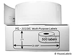 DYMO-Compatible 30336 Multipurpose Labels (1\
