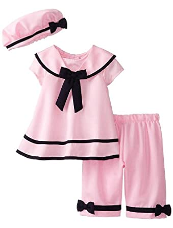 Amazon Rare Editions Baby Girls Infant Pink Navy
