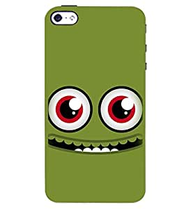 PRINTSWAG HAPPY SMILEY Designer Back Cover Case for APPLE IPHONE 4