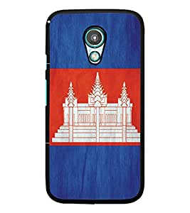 PrintDhaba Pattern Temple D-5176 Back Case Cover for MEIZU M1 NOTE (Multi-Coloured)