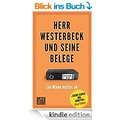 Herr Westerbeck und seine Belege: Ein Mann heftet ab. Das Steuer-ABC