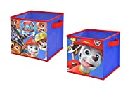 Nickelodeon Paw Patrol Storage Cubes (2 Pack), 10″ Toy