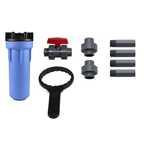 aquasana 6 year 600 000 gallon whole house water filter hardware plumbing dispensing filtration. Black Bedroom Furniture Sets. Home Design Ideas