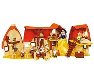 Maison de Blanche Neige + 1 poupée Blanche-Neige
