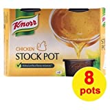 Knorr Chicken Stock Gel Pots 8 Pack 224g