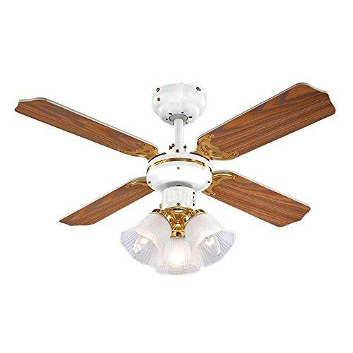 ventilateurs de plafond avec lampe int gr e minisun 5016529185765 moins cher en ligne. Black Bedroom Furniture Sets. Home Design Ideas