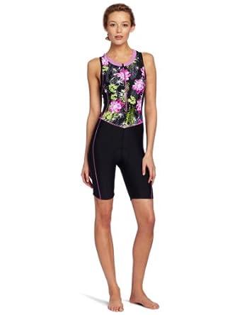 Buy Danskin Ladies Printed Triathlon Racesuit by Danskin