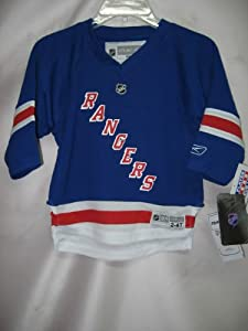Jaromir Jagr New York Ranges BLUE Replica NHL Toddler Jersey (Toddler 2T-4T)