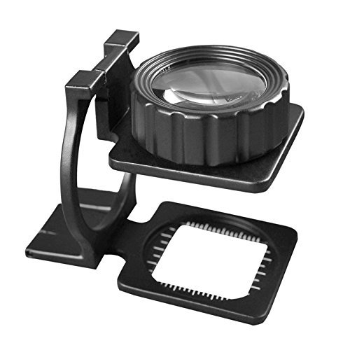 Portable-15X-Jewelers-Loupe-Magnifier-Double-Deck-Glass-Magnifying-Eye-Loop-Stand-Perfect-Low-Vision-Reading-Aide-for-Books-Menus-Magazines