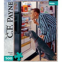 CF Payne: Midnight Snack 500 Pieces Jigsaw Puzzle
