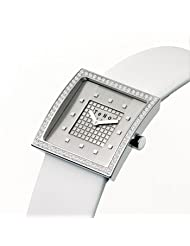 089.1411.00 Ladies TeNo Stainless Steel Watch with Diamonds