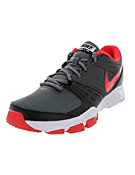 Nike Men's Air One TR Dark Synthetic Grey Running Shoes