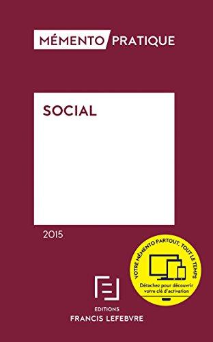 Mémento Social 2015 gratuit