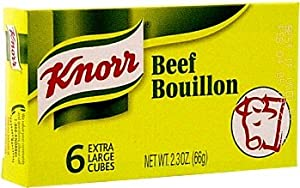 Knorr Beef Bouillon ( 6 cubes )
