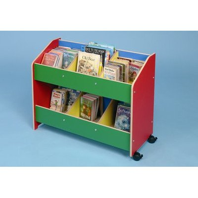 Mobile Classroom Organiser Finish: Multicolour