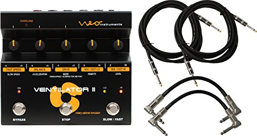 neo-instruments-ventilator-ii-rotary-speaker-simulator-pedal-for-guitar-keyboard-with-4-cables
